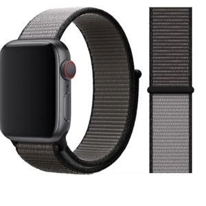 NEW [BAND] Anchor Gray Strap Loop For Apple Watch